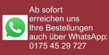 Hinweis Whatsapp - 0175 45 29 727
